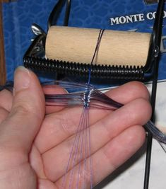 Wefting a Part - wig making