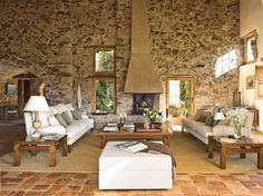 casual, rustic, lovely.