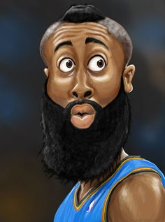 Harden Black Cartoon Characters, Cartoon Faces, Funny Faces, Cartoon Art, Funny Caricatures, Celebrity Caricatures, Haitian Art, Black Comics, Black Art Pictures