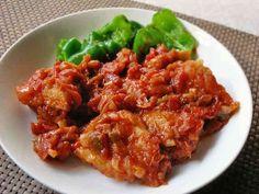 鶏むね肉のトマト煮の画像