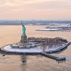 Beautiful Lady Liberty by @nyonair
