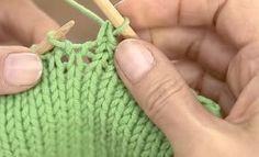 buttinette TV: Quicktipp Maschen elastisch abketten | buttinette Blog