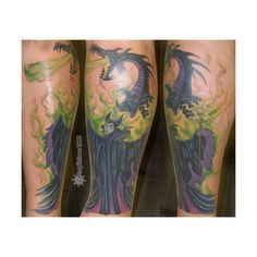Maleficent Tattoo Pictures at Checkoutmyink.com found on Polyvore