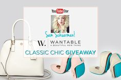 Enter to win a Tory Burch Satchel, Wantable Accessory Box, and Sam's favorite Tieks in cream and pink from Wantable!