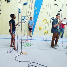 The @usaclimbing Adaptive #climbing nationals about to start!