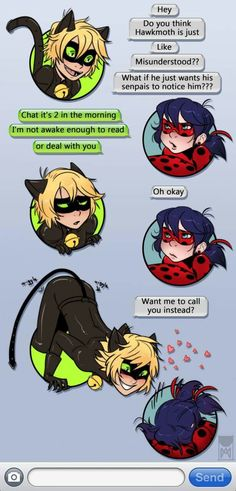 Shouldnt they realize its the same phone number as Marinette and Adrien?