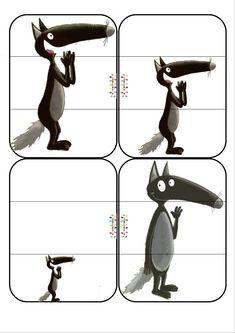 Le loup qui apprivoisait ses émotions : Jeu de la bataille – petit moyen grand A imprimer, à plastifier et à découper. Phase 1 découverte : donner des cartes à chaque enfants. Il doit…