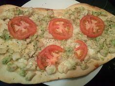 AVIRECETAS ¿Qué cocino hoy?: Pizza de pollo y pesto verde