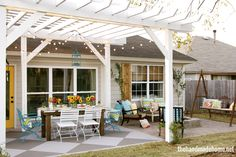 Hometalk :: Color Love; 5 Mantras to Live By..Loving this Patio <3