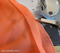 for beautiful hems on delicate fabrics  BCN - UNIQUE designer patterns: Tejidos transparentes (Tutorial costura).-