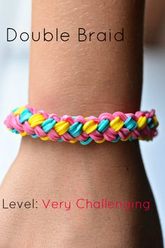 Want to learn how to make Rainbow Loom Bracelets? We've found many rainbow loom instructions and patterns! We love making bracelets, creating and finding helpful loom tutorials. Rainbow Loom Tutorials, Rainbow Loom Patterns, Rainbow Loom Creations, Rainbow Loom Bands, Rainbow Loom Bracelets, Loom Love, Fun Loom, Loom Band Bracelets, Rubber Band Bracelet