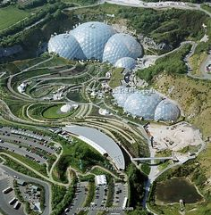 The Eden Project, Cornwall - one of the best trips ever.