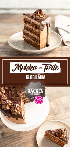 SALLYS MOKKA-TORTE / GLOBILÄUM For the day of coffee, I have the recipe for a delicious mocha cake. The dough consists of a juicy Rührölteig with hazelnuts, buttermilk and chocolate crumble. The espresso in the dough supports the chocolate taste again. Authentic Mexican Recipes, Mocha Cake, Moka, Tart Recipes, Cheesecake Recipes, Bienenstich Recipe, Mexican Dessert Recipes, Chocolate Sprinkles, Desert Recipes