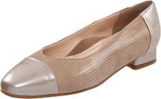 Beautifeel Women's Skyler Slip-On Loafer in Champagne Luminous Suede