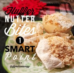 Fluffer Nutter Bites: 1 Weight Watchers Smart Point / 1 Points Plus