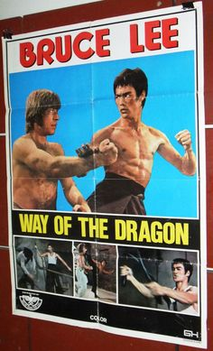 "Way of the Dragon (Bruce Lee) 39x27"" Lebanese Original Movie Poster 70s in Entertainment Memorabilia, Movie Memorabilia, Posters 