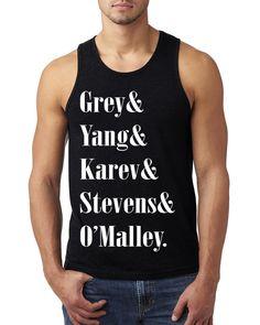 #Grey #Yang #Karev  #Stevens  #O'malley