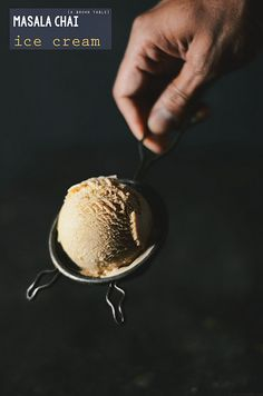 masala chai ice cream ginger cardamom by abrowntable, via Flickr