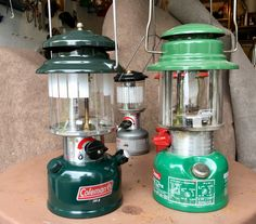 Coleman Green lanterns