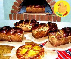 8 retete de cozonaci din toata Romania Romania Food, Easter Recipes, Deserts, Muffin, Ale, Bread, Breakfast, Ethnic Recipes, Applique