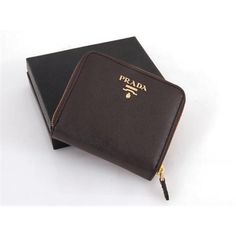 Prada Men Coffee Short Wallets   $149.00 #Prada #Wallet #Purse http://www.mylovelypradabags.com
