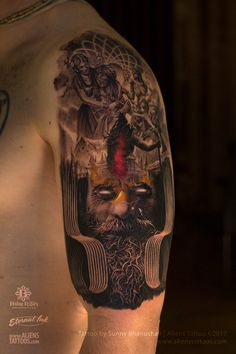 Gopisvara Lord Shiva Tattoo