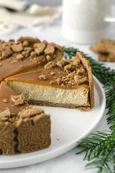 The Calorie Is a Unit of Energy - Tricks of healthy life Cheesecake Caramel, Cheesecake Recipes, Pancake Dessert, Pie Co, Delicious Desserts, Yummy Food, Food Cakes, Sweet Cakes, Pumpkin Recipes