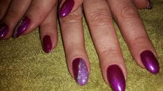 LCN Recolution Berry Punch with glitter detail...