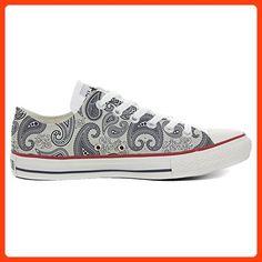 Converse Custom Slim personalisierte Schuhe (Handwerk Produkt) Light Paisley  33 EU