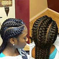 Goddess Braids Styles 2020 Ideas Goddess Braids Styles Here is Goddess Braids Styles 2020 Ideas for you. Goddess Braids Styles 2020 66 of the best looking black braided hairstyles Hairstyle Trends, My Hairstyle, Pretty Hairstyles, Girl Hairstyles, Big Braids, Girls Braids, Corn Row Braids, Under Braids, Braid Styles