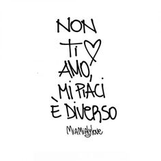 Alice in arte Tumblr Quotes, New Quotes, Quotes For Him, Family Quotes, Mood Quotes, Love Phrases, Love Words, Christ Quotes, Italian Quotes