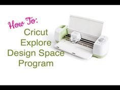 """Does the Cricut Explore seem a little overwhelming to you? Let's start basic in the first of the """"Cricut Explore Step-by-Step"""" series. Cricut Help, Cricut Air, Cricut Vinyl, Cricut Explore Projects, Cricut Explore Air, Good Tutorials, Cricut Tutorials, Cricut Ideas, Image Youtube"""