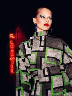 Anna Ewers : Vogue UK September 2015