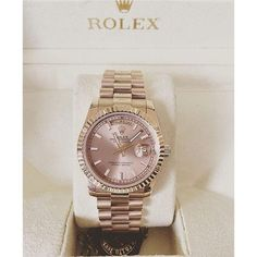 Elegant ladies watches rose gold Dusty rose and gold Rolex for women Luxury Watches, Rolex Watches, Cool Watches, Watches For Men, Ladies Watches, Cheap Watches, Wrist Watches, Stainless Steel Bracelet, Luxury Jewelry