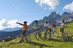 Mountainbiken in Filzmoos Mtb, Bicycle, Vehicles, Bike Rides, Summer Vacations, Horseback Riding, Felting, Bicycle Kick, Trial Bike