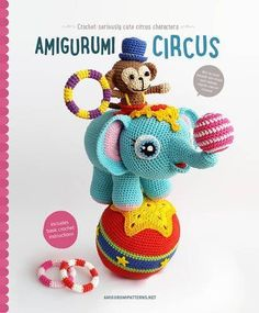 Party Monkey Free Crochet Amigurumi Pattern from the designer featured in the new Amigurumi Circus pattern book - preorder now for September 1, 2016 delivery – Crocheted Buddies
