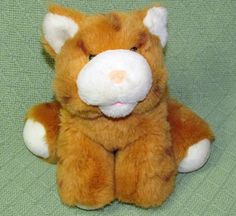 Excalibur TABBY CAT Plush Las Vegas Hotel Souvenir Orange Striped Stuffed Animal #Excalibur