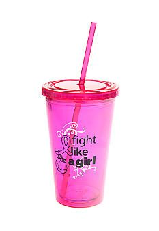 Signify Pink Breast Cancer Awareness Tumbler with Straw #belk #breastcancerawareness