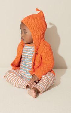 sweet #orange hooded cardigan http://rstyle.me/n/ms9c5r9te