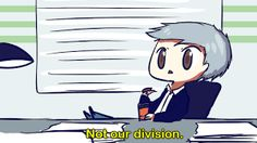 Image result for lestrade not my division