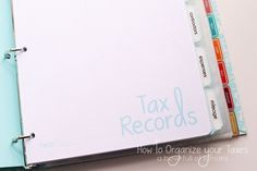 Learn how to set up your business to succeed this year!  It all starts with an organized book-keeping routine.  Get the scoop at A Bowl Full of Lemons.  *** Great for thirty one, scentsy, origami owl, pampered chef and other home based businesses.