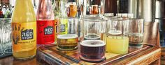 Clarens Brewery's Red Stone ciders are made using local fruits