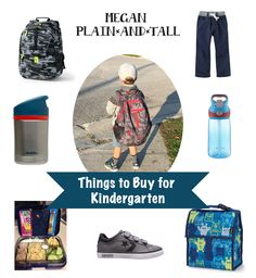 Things To Buy For a First Time Kindergarten Student