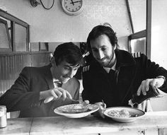Pie shop scene from Quadrophenia Pete Townshend and Phil Daniels Ray Winstone, Pie And Mash, I See Stars, Rock Stars, Pete Townshend, Skinhead, Way Of Life, Beautiful Celebrities, Celebrity Photos