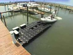Pontoon Boat Lifts - Pontoon Floating Docks