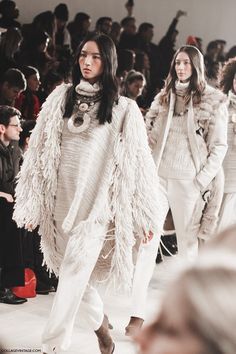 Ralph Lauren, Fall Winter 2015/2016. Collage Vintage. New York Fashion Week.