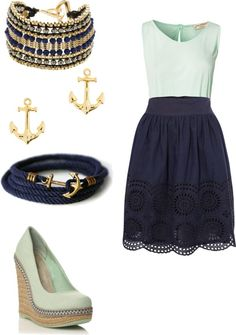 """sunny day"" by mlmk98 ❤ liked on Polyvore"