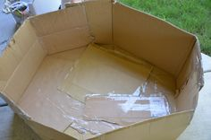 cardboard box craft