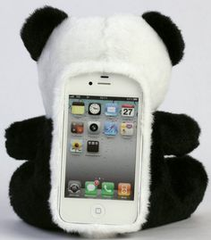 Plush Toy Cell Phone Case for iPhone 5 I'm totally in line with this