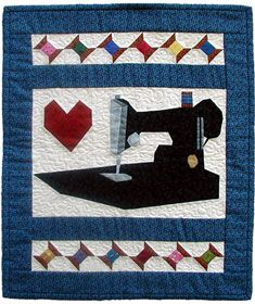 Sewing Machine Quilt pattern with multiple sizes included - PDF ... : sewing machine quilting patterns - Adamdwight.com